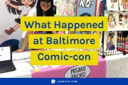 What happened at Baltimore Comic-con with Misako Rocks