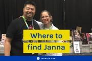 Where to find Janna: Anime NYC, Kids Comics meetup, Insider Secrets webinar