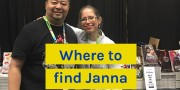 Where to find Janna: Anime NYC, Kids Comics meetup, Insider Secrets webinar