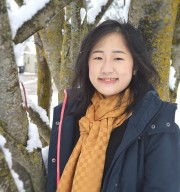 Hmong-American children's book and graphic novel creator Duachaka Her at her home in Wisconsin