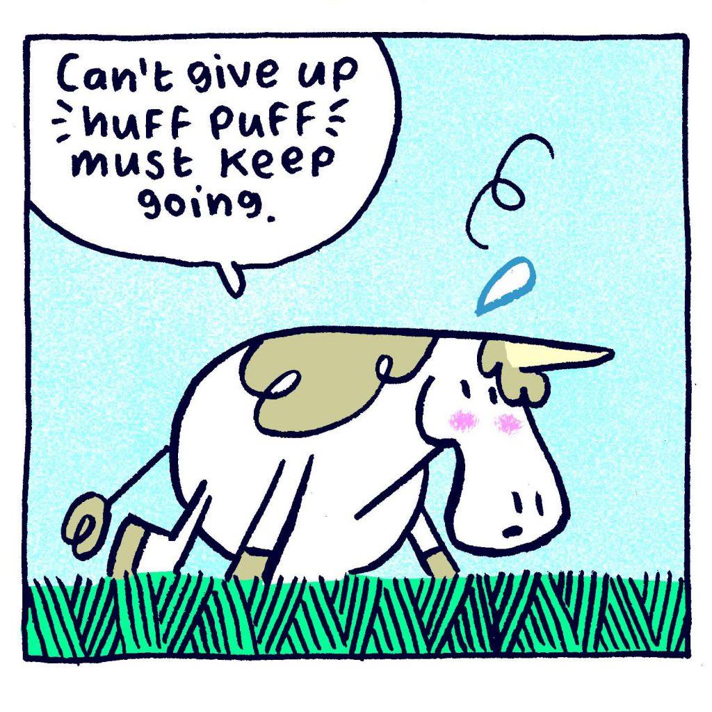 Punycorn by Andi Watson, a middle grade humor fantasy graphic novel