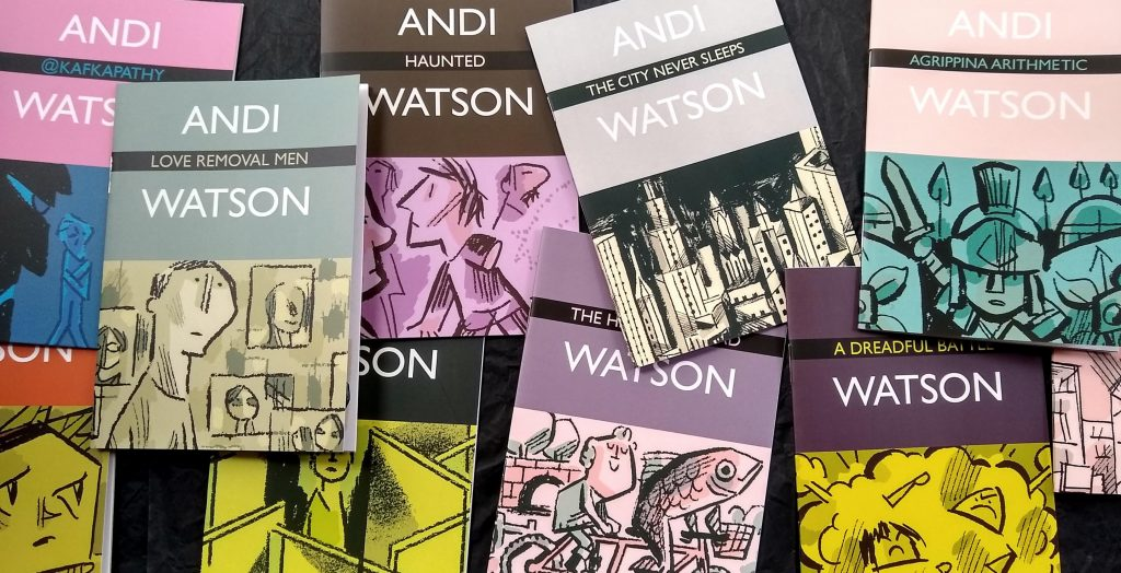 Graphic novels by Andi Watson, one of the best indie comics creators