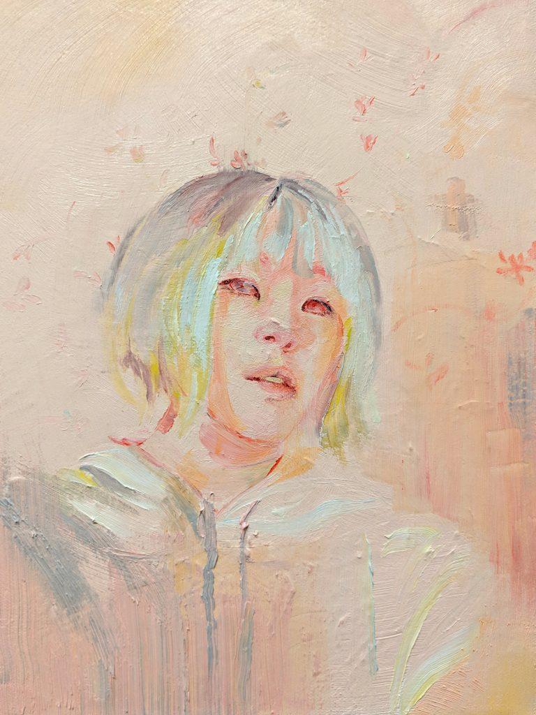 Serena Phu oil self-portrait